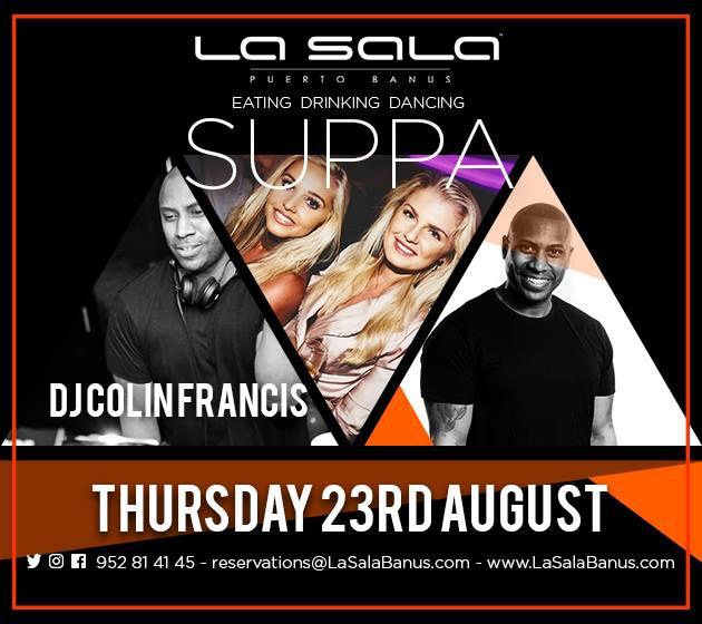DJ Colin Francis - Suppa