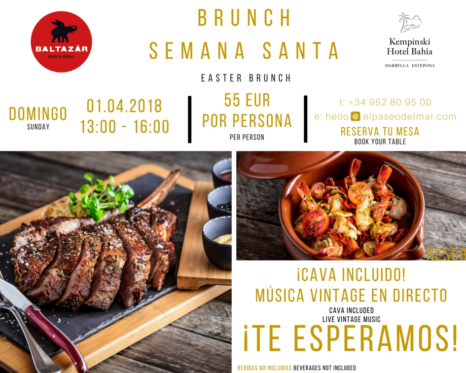 Easter Brunch at the Kempinski Hotel Bahía
