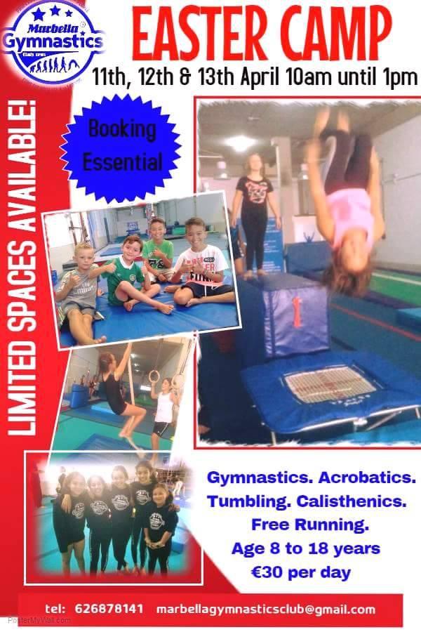 Easter Camp at Marbella Gymnastics