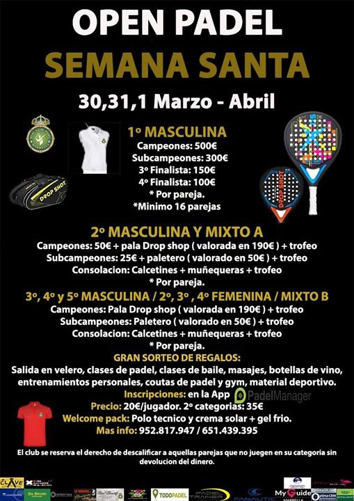 Easter Open Padel Tournament