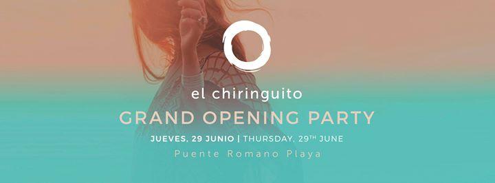 El Chiringuito Grand Opening Party 29/06