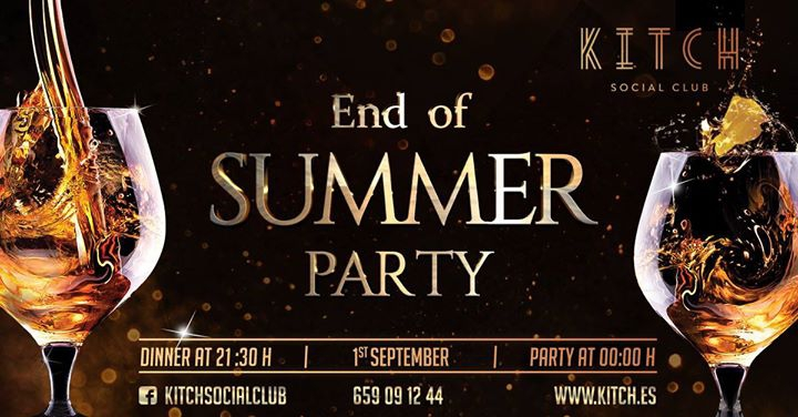 End of Summer Party at KITCH