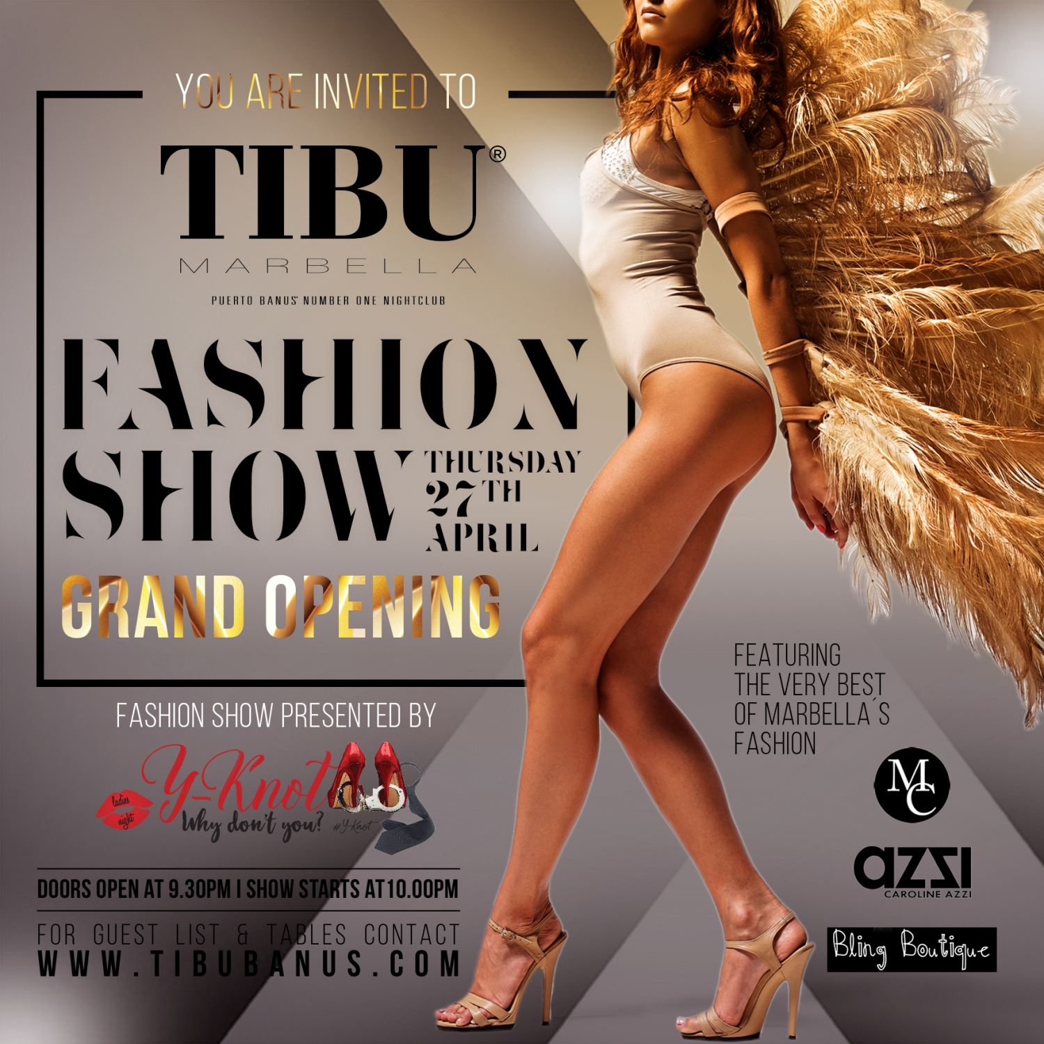 Fashion Show at Tibu Banus