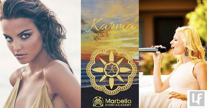 Fashion show, Live Music & Make-up at Karma Beach this sunday