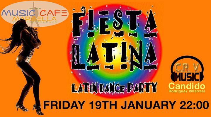 Fiesta Latina by DJ Candido Rodriguez Villarreal