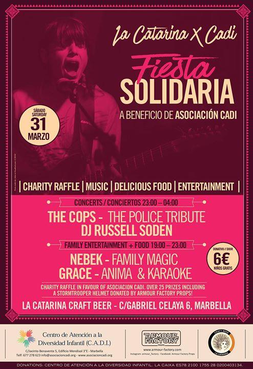 Fiesta Solidaria CADI en La Catarina