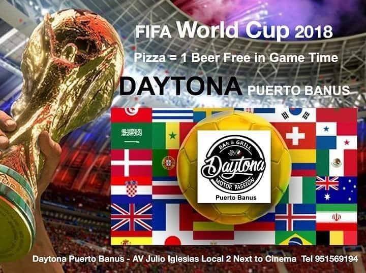 FIFA World Cup at Daytona