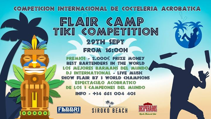 Flair Camp Tiki Competition