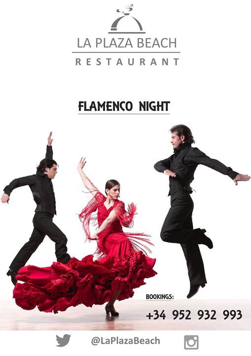 Flamenco Night at La Plaza Beach - Dona Lola