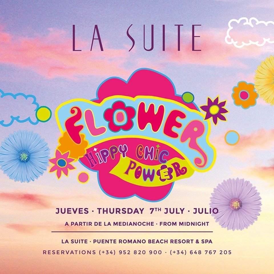 Flower Power at La Suite