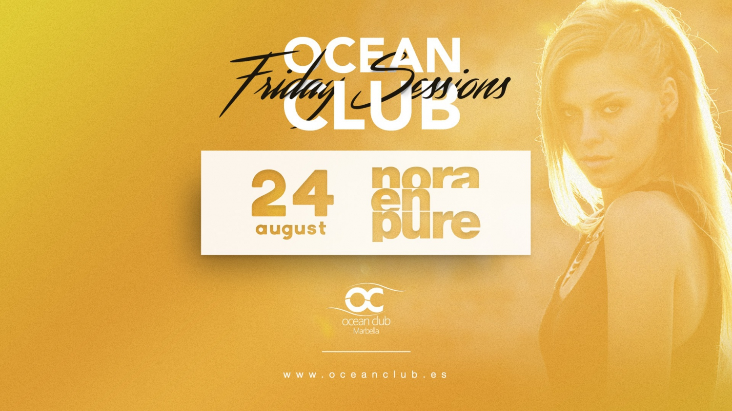 Friday Sessions Nora en Pure