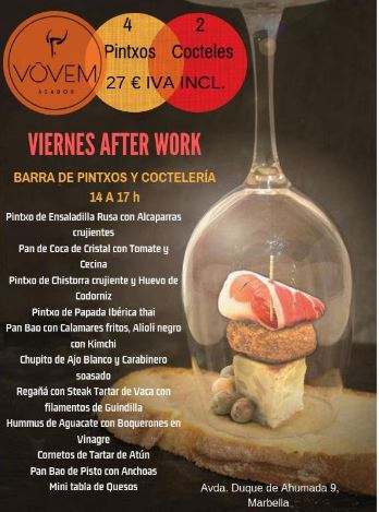 Fridays After Work @ Vovem Marbella