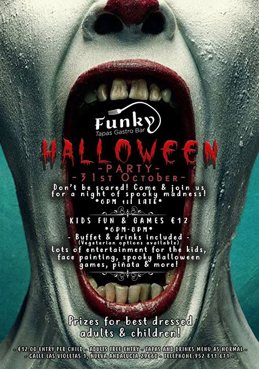 Funky Halloween Party!