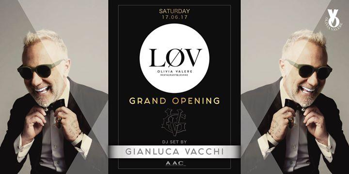 Grand Opening LØV Gianluca Vacchi