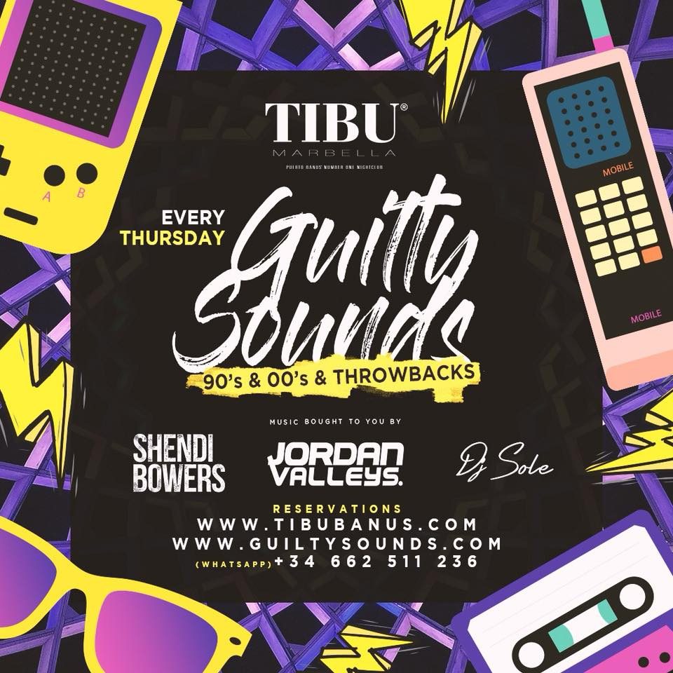 Guilty Sounds every Thursday