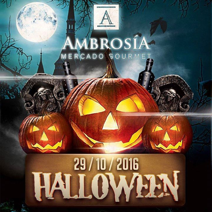 Halloween en Ambrosia Mercado