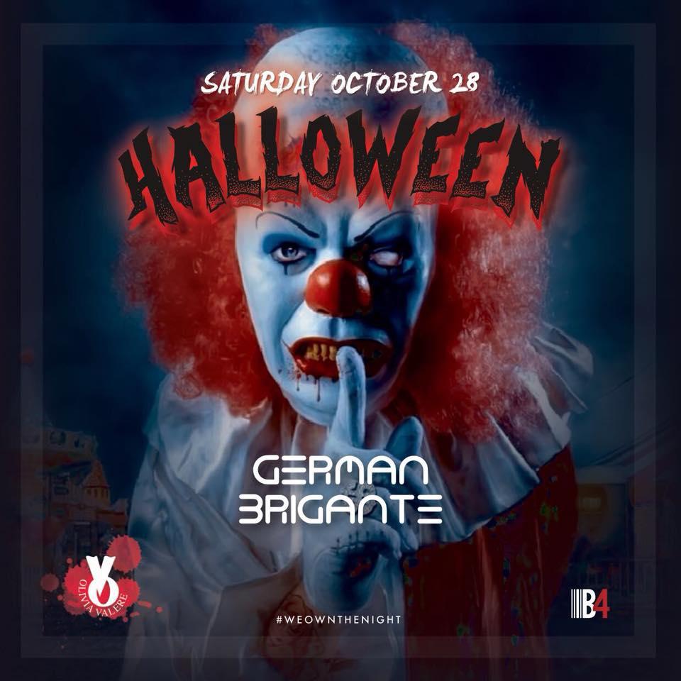 Halloween GERMAN BRIGANTE • October 28th