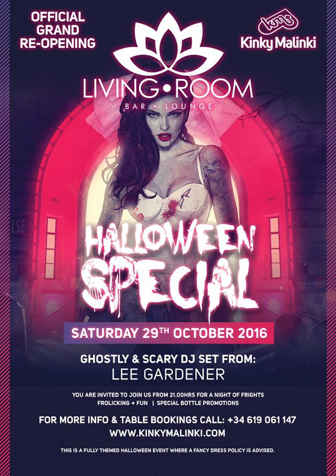 Halloween Party and Grand Re Opening