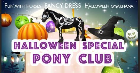 Halloween Pony Club & Gymkhana