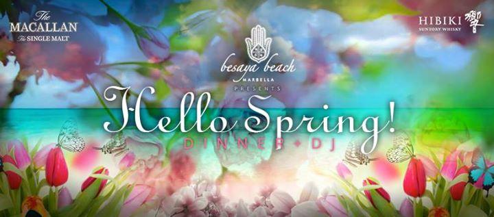 Hello Spring! Dinner + Music with Dani Dj
