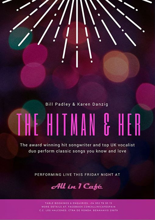 Hitman & Her - Friday 15th DEC, at All In One Cafe