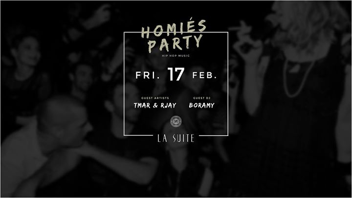Homies Party at La Suite Club