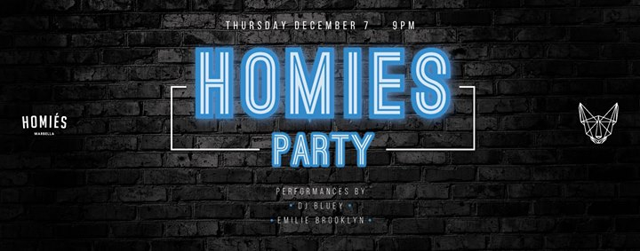 Homies Party at Mosh Fun Kitchen