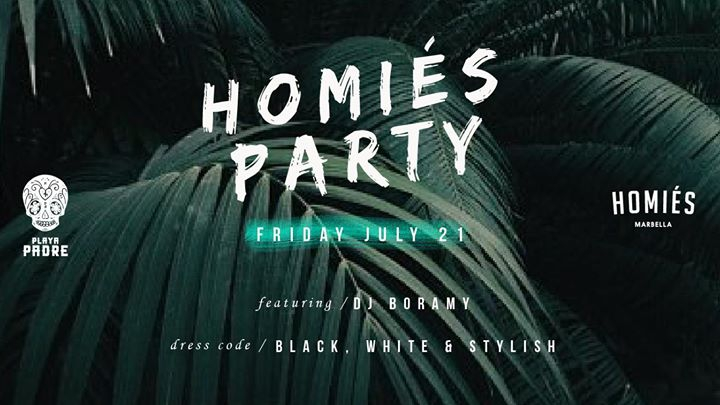Homies Party at Playa Padre 21/07