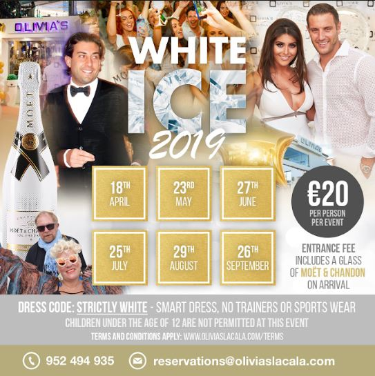 Ice White Parties At Olivia's La Cala 2019