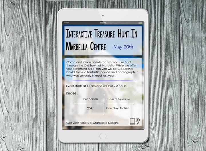 Interactive Treasure Hunt