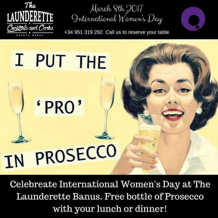 International Womens Day at The Launderette Banus