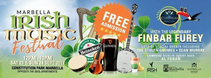 Irish Music Festival Marbella