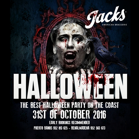 Jacks American Brasserie Halloween Party