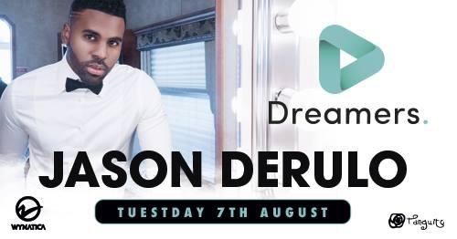 Jason Derulo at Dreamers