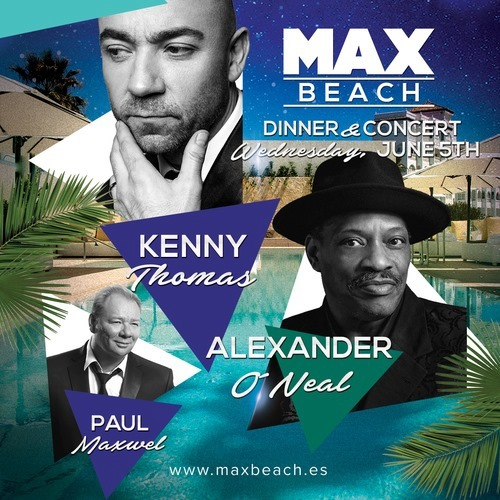 Kenny Thomas, Alexander O'Neal and Paul Maxwell live!