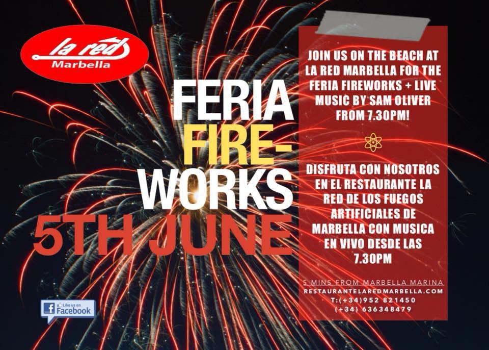 La Red Feria Fireworks