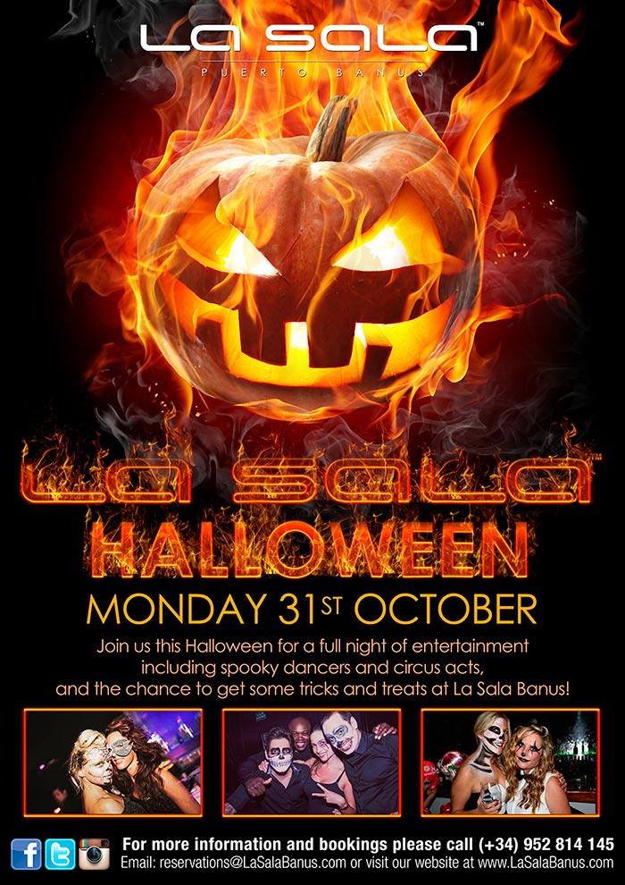 La Sala Halloween Party - Til death do us Party