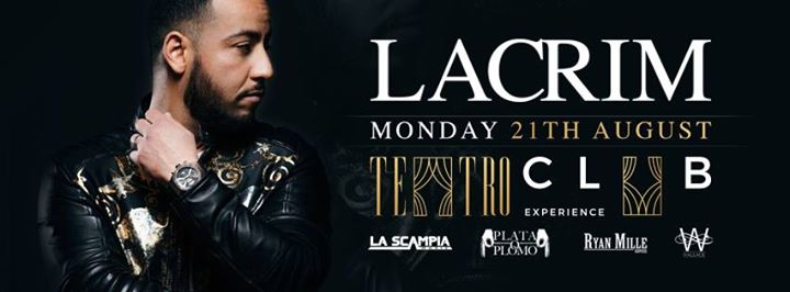 Lacrim at Teatro Marbella | 21.08.2017