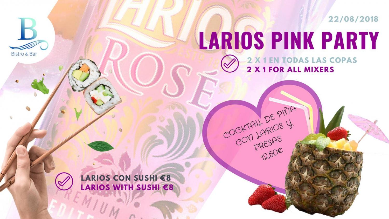 Larios Rosé Party