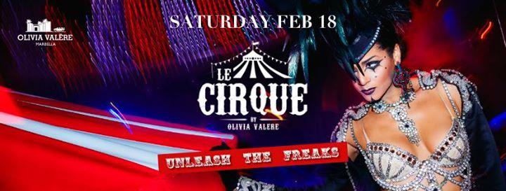Le Cirque Olivia Valere