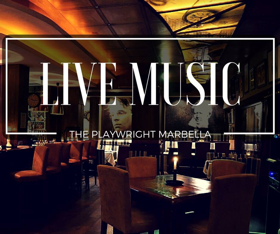 Live Music every night at The Playwright