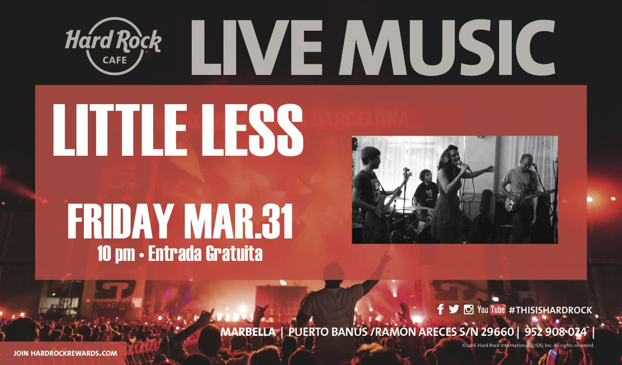 Live Music with Little Less