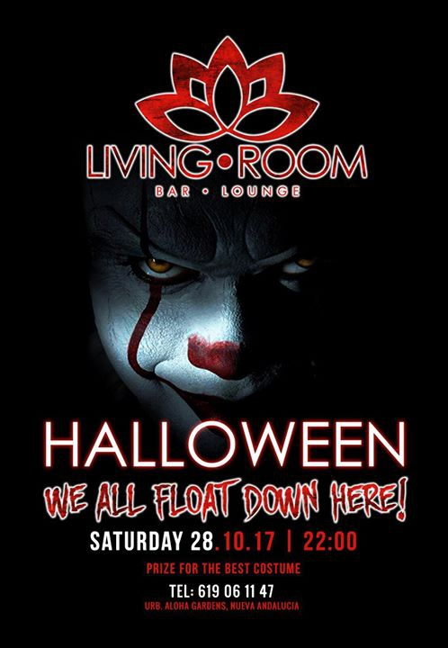 LIVING ROOM | HALLOWEEN PARTY | 28TH OF OCTOBER!
