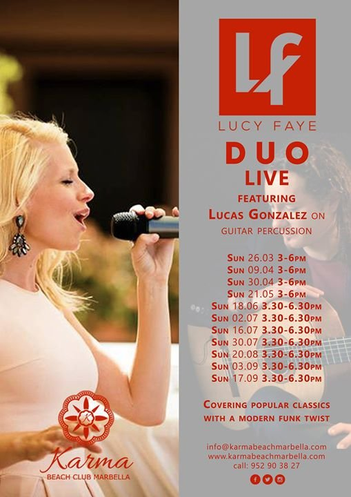 Lucy Faye Duo LIVE