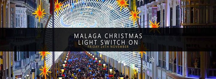 Malaga Christmas Lights Switch On 2017 Coach Trip