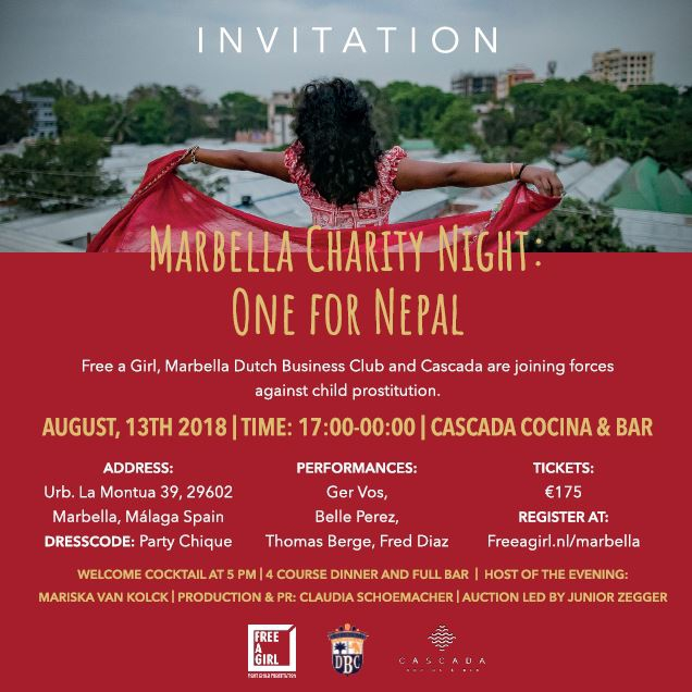Marbella Charity Night: One for Nepal