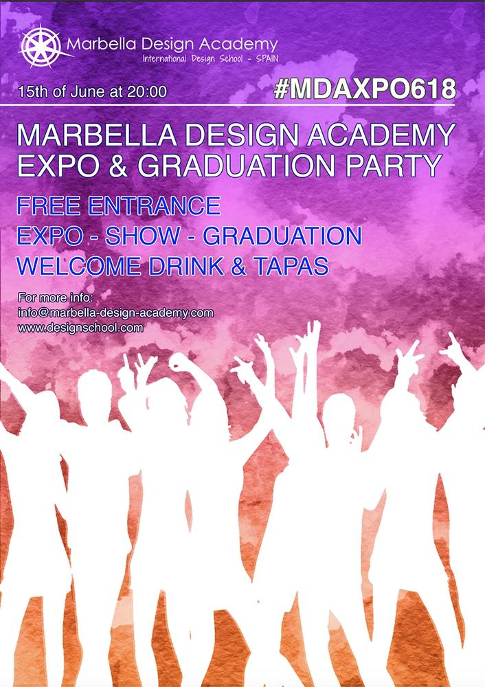 Marbella Design Academy Summer 2018 Exposition & Graduation Party