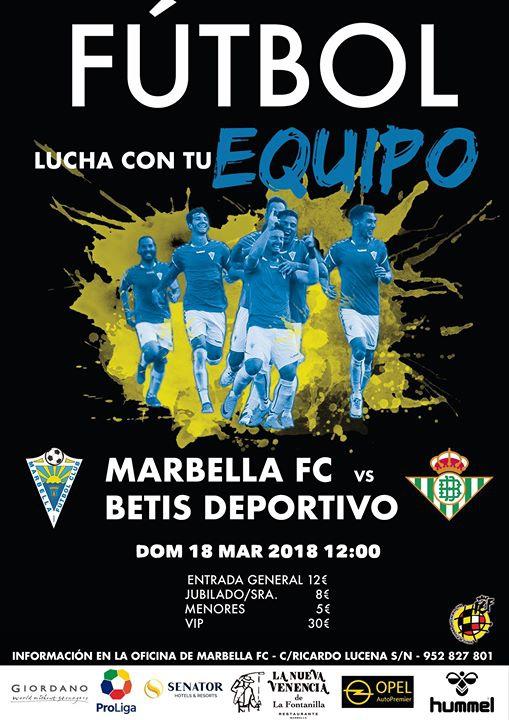 Marbella FC vs Betis Deportivo