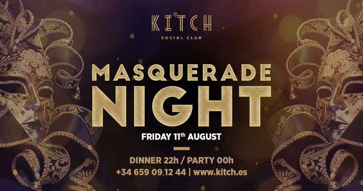 Masquerade Night at Kitch