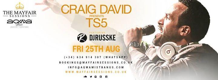 Mayfair Sessions presents: Craig David / 25.08.17